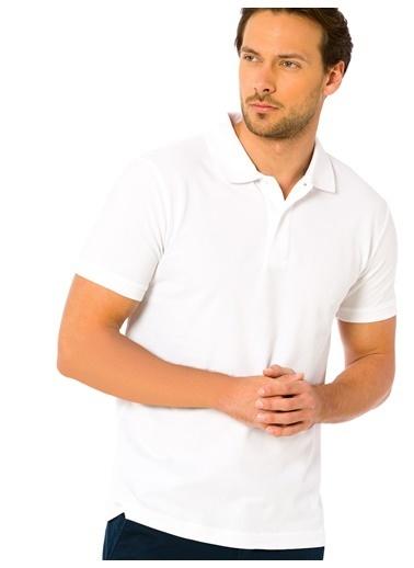 LC Waikiki Polo Yaka Tişört Beyaz